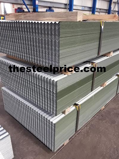 Corrugated Galvanized Sheet manufacture